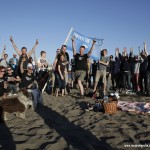 Hamburg celebrated UTW Day on the beach