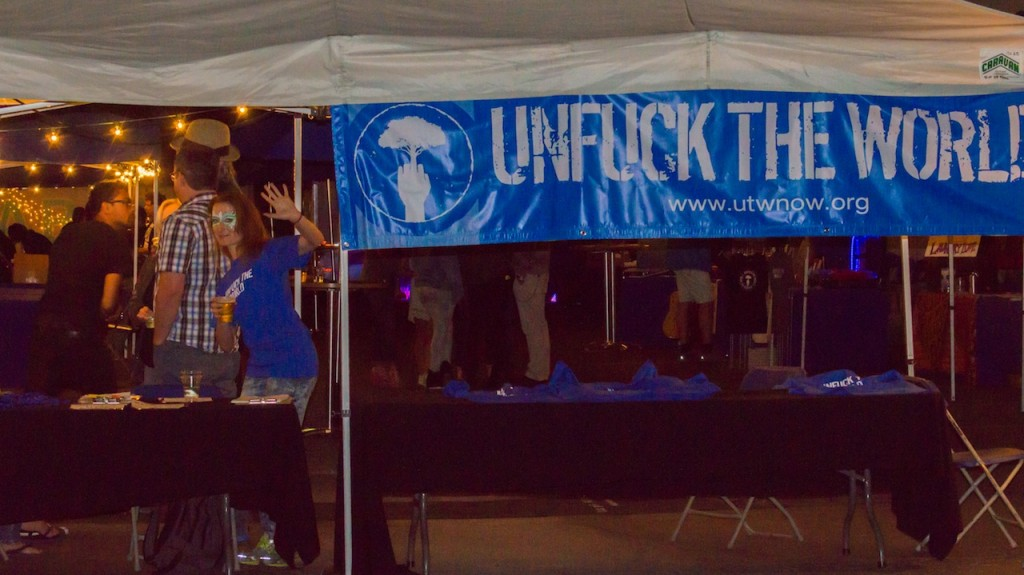Welcome to Unfuck The World Day 2014 L.A.