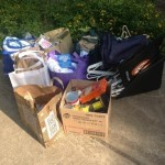 Some of the items that were donated to GRACE