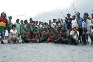 UTW Day organizers and members of the Aeta People